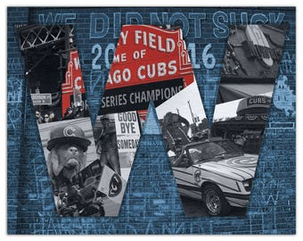 Chicago Cubs Art Wall Sticker Fine Art Print Giclee Poster Print