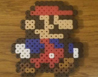 Perler bead Mario