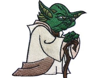Star Wars Patch Master Yoda Patch Chewbacca Iron on Patch Sew On Patches back patch