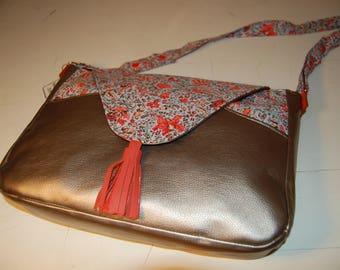 Mavada gold handbag