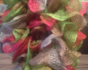 Frou Frou scarf soft and tender colors