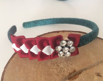 Latvian flag Headband