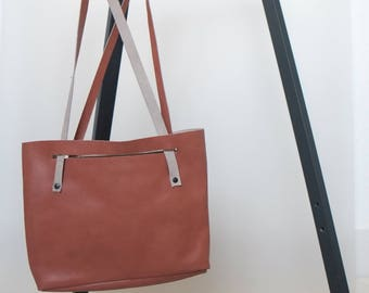 COUCH TO BAG re-used leather bag