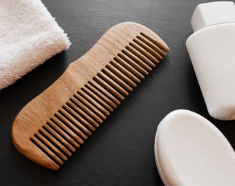 The Ultimate Beard Comb Brush Beard Hair Mustache Comb for Man Husband Comb Gift Man Wooden Beard Comb Beard Groom Brush Personalized Comb