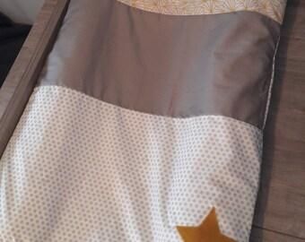"""Housse de matelas à langer """"étoiles"""""""