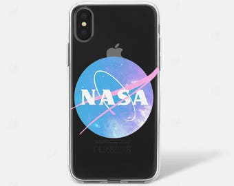 Pastel Galaxy Nasa Tumblr Clear Phone Case Phone X iPhone 6 iPhone 7 iPhone 7 PLUS iPhone 6 PLUS iPhone 8 Samsung Galaxy S7 S8 Edge Clear