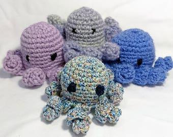 Octopus crochet Amigurimi