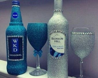 Customize Bottles and Glasses