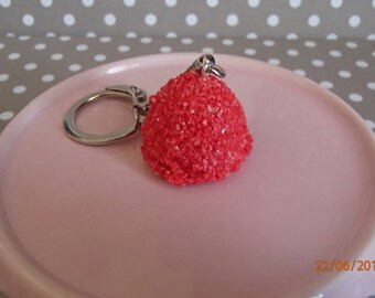 Sweet red Strawberry keychain
