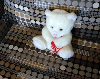White Cuddly Bear