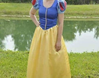 Handmade Snow white dress