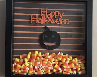 Shadowbox- Halloween themed