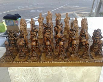 Chess themed pieces: Kama Sutra