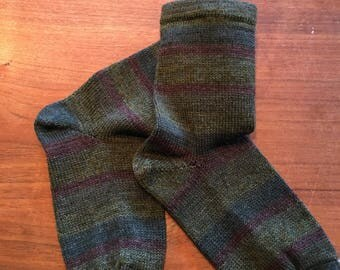Wool and Nylon Socks to fit 9.75 in foot