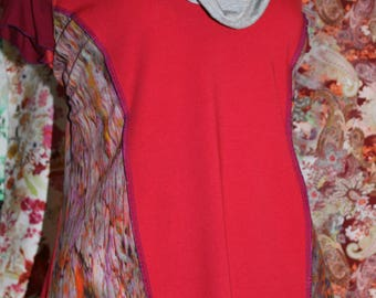 """""""Cosmos"""" blouse or T-shirt paint jersey size 44-46"""