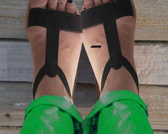 Sandals Women's, Μαύρα Ελληνικά Στράπλες Γάντια Σανδάλια,Leather Sandals,Greek Sandals.Handmade Sandals,Ελληνική Στράπλες Σανδάλια,ALEXANDRA