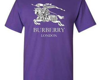 Burberry Purple T-Shirt