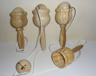 New! Ice cream cone Cup handcrafted in oak - A gift