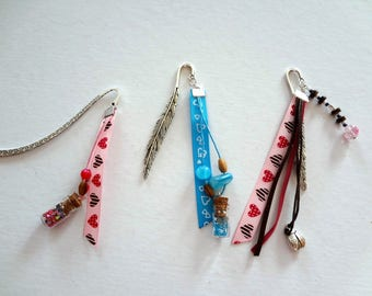 Special Valentine's day - Bookmark with hearts