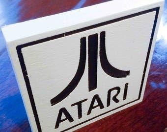 Atari Logo Retro Sign for Office Man Cave Wherever