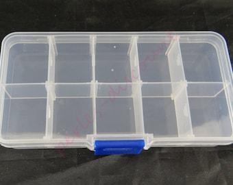 10 adjustable lockers with boit002 lid storage box