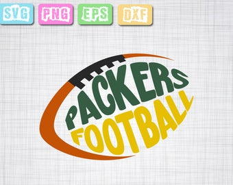 Packers svg, packers shirt, packers football team , football, DXF, PNG for use with Silhouette Studio and Cricut Design Space