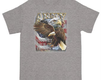 US Army Support Our Troops T Shirt