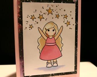 Celebration Girls Digital Stamp Set