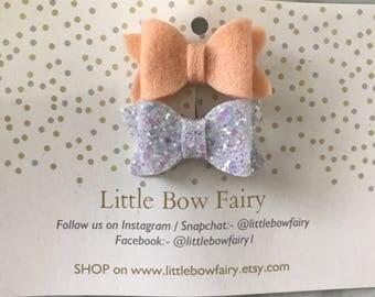 Set of mini bows