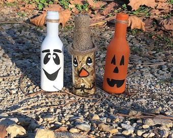 Halloween Wine Bottle Set