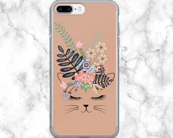 Cat iPhone 7 Plus Case // Cat iPhone 7 Case // Cute Cat Phone Cases // Cat Phone Case for iPhone 7 // Cat Lover Gifts // Cat iPhone Case