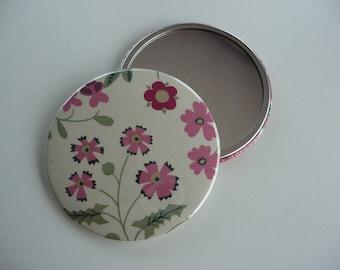 7.50 cm 75 mm liberty Mirabelle Pocket mirror