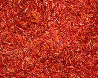 SAFFLOWER - natural plant dye