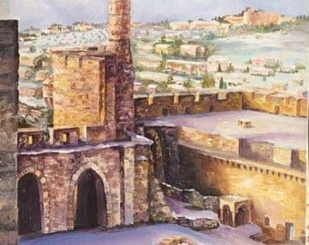 Jerusalem by Olga Magazanik