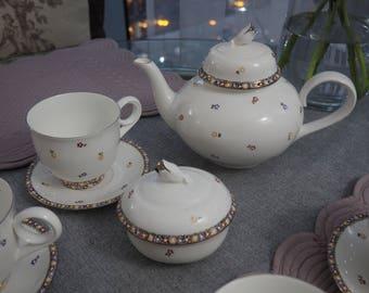 Hand-painted Porcelain Unique Teapot
