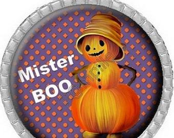 Pendant Cabochon - Mr Halloween (635)