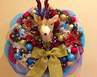 Winter Wonderland Holiday Wreath