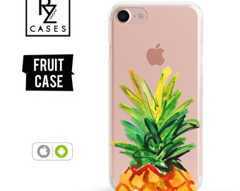 Pineapple Phone Case, Pineapple Case, Fruit Phone Case, iPhone 7 Case, iPhone 6 Case, iPhone 7 Plus Case, iPhone 6 plus, Samsung Galaxy Case