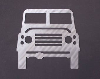 Land Rover Silhouette Wall Decor Art Hanging