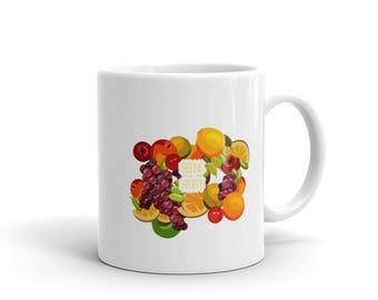 Feeling Fruity Basket Case of Fruits Mug