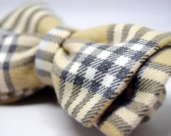 Unisex bow tie. Bow Tie Scottish box. Adjustable