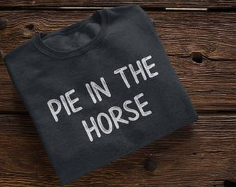Pie in the Horse Snoopy Dog Family Fued Answer Funny Hip Hop Game Show Gin and Juice Shirt