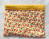 Orange Cuddle Sack w/ Fleece Lining for Guinea Pigs, Rats, Mice, Chinchillas and other small animals