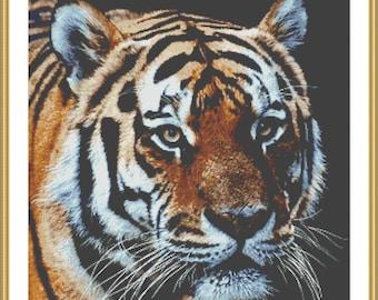 Tiger cross stitch pdf download