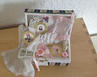 Miniatures 1/12 Dollhouse Dollhouse box