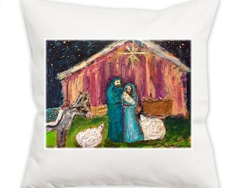 All is Bright Pillow Cover