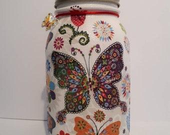 Butterfly vase / centrepiece
