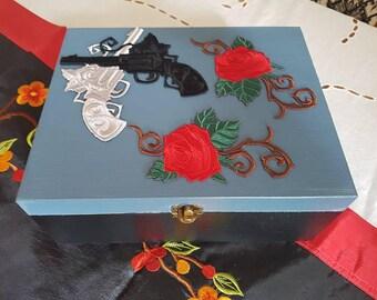 Guns n' Roses Memento/Keepsake/Jewellery box