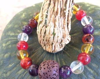 Lava Stone Diffuser Bracelet