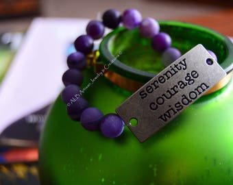 Wisdom, Courage & Serenity Bracelet